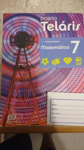 Livro Projeto telaris Luiz Roberto Dante 7° ano