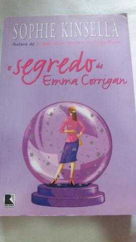 Livro Secredo de Emma Corrigan