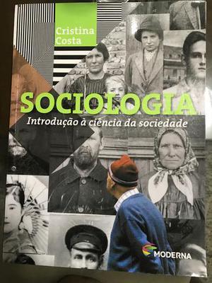 Livro Sociologia - introdução à ciência da Sociedade,