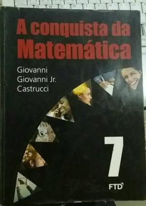Livro de Matemática 7°ano A Conquista da Matemática
