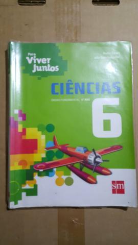 Livro didático de Ciências Para Viver Juntos 6