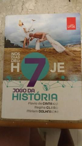 """Livro """"jogo da historia nos dias de hoje"""" Flavio de Campos,"""