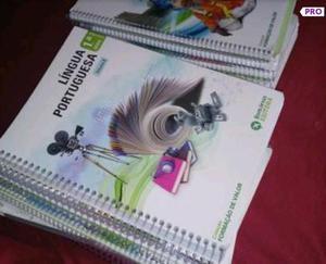Livros e caderno de atividades bom jesus 1° ano Ensino