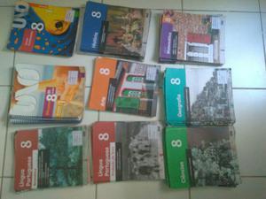 Livros sistema Uno 8° ano
