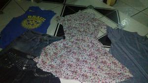 Lote de roupas 170 peças