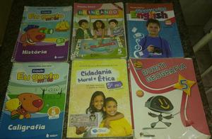 Vendo livros do 5° ano R$ 50,00 cada