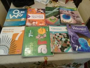 Vendo livros do 7° ano