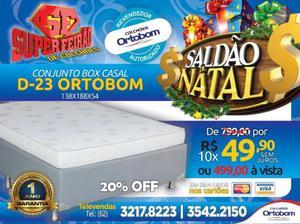 Conjunto Box Casal D23 Ortobom