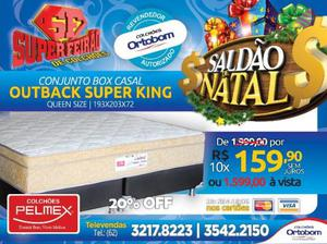 Conjunto Box Casal Super King Out Back Pelmex