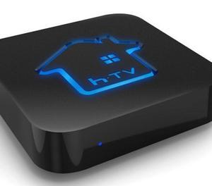 Htv Box 5 - Receptor TV IPTV - Lacrado, canais liberados