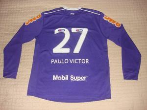 Camisa flamengo olympikus  27 paulo victor manga longa jogo 47a43c90b9ccd