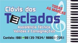 Clovis dos teclados - assistência técnica e vendas de