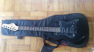 Guitarra Strinberg Stratocaster Preta Nova