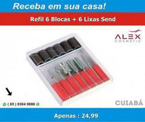 Kit Refil Lixa Completo (Bazar MT)