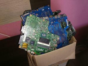 Lotes de placas de notebook com defeito para uso de