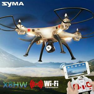 Drone Syma X8HW com câmera Wifi e estabilizador de Altitude