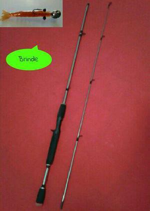 Vara de pesca 6-15LB material em carbono