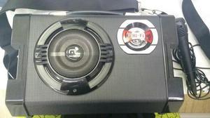 Caixa de Som 80w RMS - Multilaser / mp3;usb;SD;FM;Microfone