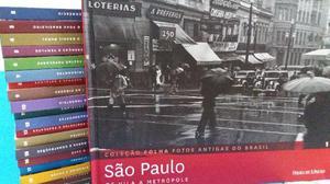Coleção Folha fotos antigas do Brasil - completa
