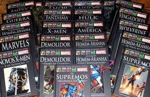 Coleção de Graphic Novels Marvel - Salvat