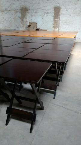 Mesa 1,20x70 com 4 cadeiras direto da fábrica
