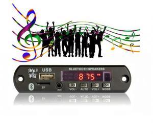 Placa Decodificadora Mp3 Usb Pendrive Sdcard Bluetooth +