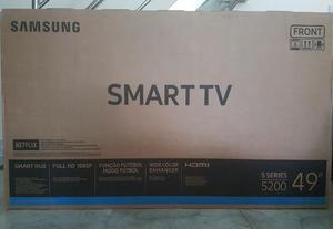 "Smart Tv LED Samsung 49"" Full HD 2 HDMI 1 USB Wi-Fi lacrada"
