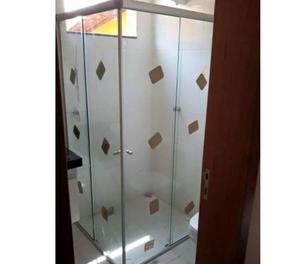 Box Em Vidro Temperado 8mm. Verde, Fumê ou Incolor - Arte