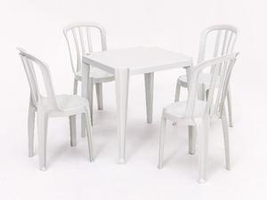 Jogos de Mesas e Cadeiras / Mesas Plasticas / Poltronas