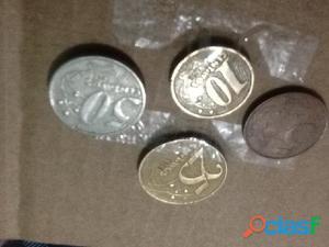 COMBO! 4 moedas do real ano 1998 (ler descrição)