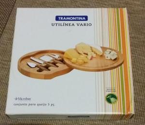 Conjunto para queijo Tramontina nunca usado