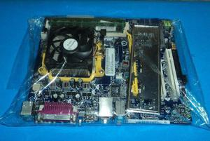 Kit amd am2 + dual core 2.70ghz + 2gb de memoria ram +