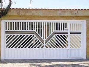 Portão Galvanizado e de Ferro, melhor preço do mercado