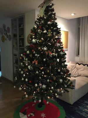 rvore de Natal Completa 2,5m