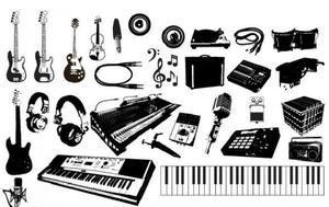 Aulas de instrumentos e canto