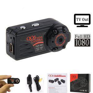 Mini Câmera Filmadora QQ6 Detecta Movimento Visão Noturna