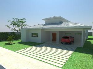 Casa em construção com 3 quartos (suítes) no