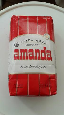 Erva Mate Chimarrão Argentina Amanda