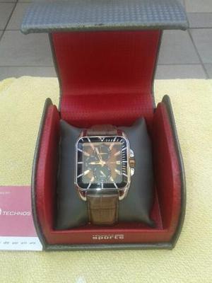Relógio Technos pulseira de couro ótimo estado barato