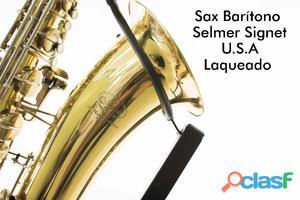 Sax Barítono Selmer Signer Laqueado