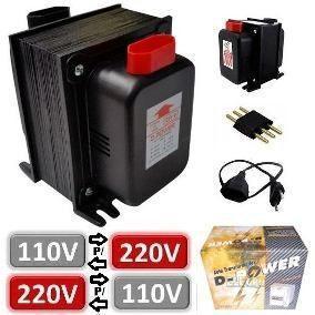 Conversor adaptador para mini geladeira 110v 220v posot - Transformador 220 a 110 ...