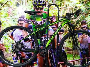 Bike aro 29 oggi agile sport de fibra de carbono. bike 0km