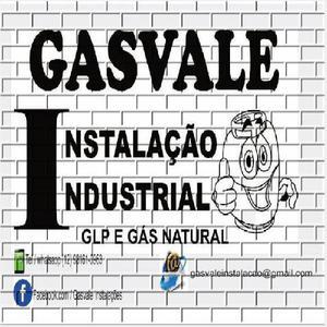 GASVALE INSTALAÇÃO DE GÁS NATURAL E GLP COM TESTE