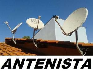 Instalação e Apontamento de antenas em geral