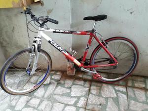 Moutain bike Caloi supra 21v com velocímetro digital