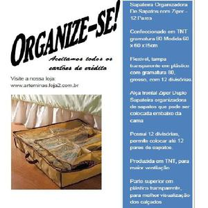 Sapateira organizadora para 12 pares