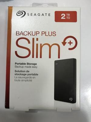 Hd Externo 2tb Seagate Backup Plus Slim Usb 3.0