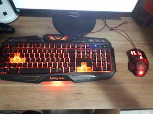 Kit PC Gamer (Teclado + Mouse + Headset)