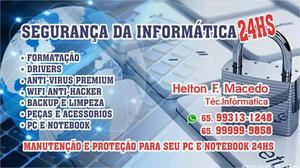 Peças e serviços pc e notebook