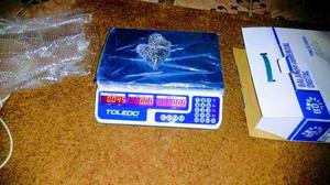 Balança Digital 40kg TOLEDO (ENTREGO)